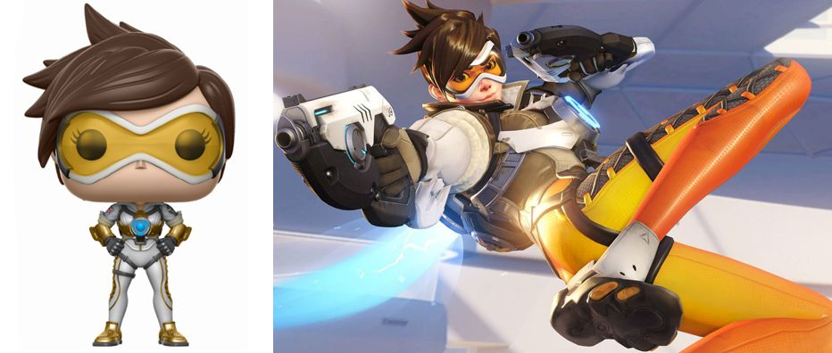 Funko POP! Games: Overwatch: Tracer (Posh) (Exc)