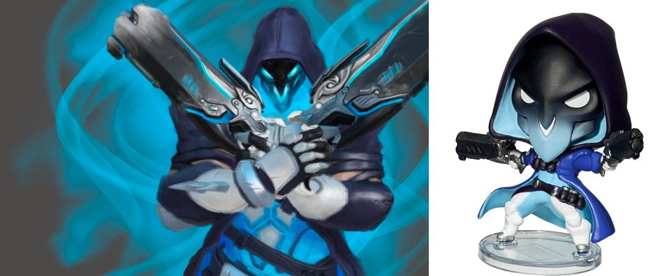 Blizzard Cute But Deadly: Overwatch - Shiver Reaper
