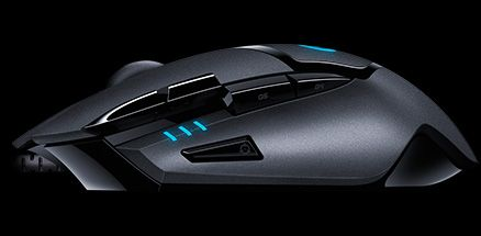 Logitech G402 Hyperion Fury FPS Gaming Mouse (910-004067)