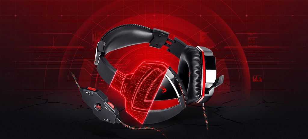 A4Tech Bloody G501 Black/Red