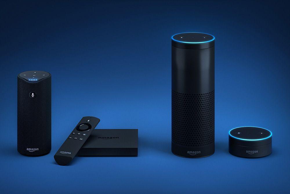 Элементы умного дома для Amazon Alexa