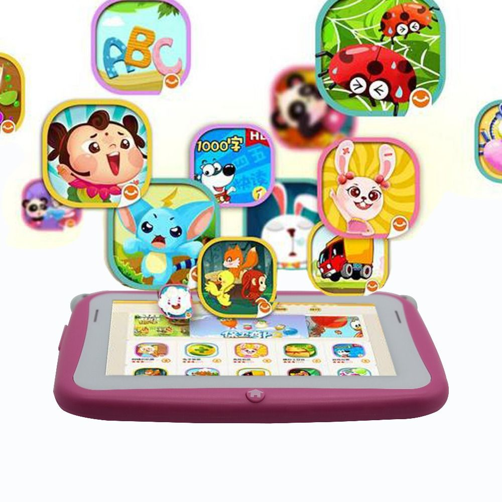 4.3 Inch KIDS Android Tablets PC WIFI Dual camera tab pc gift for baby and kids tab pc 512MB 4GB KIDS tab android tablet for kid.jpg