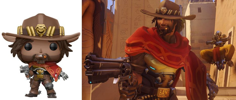 Funko POP! Games: Overwatch: McCree