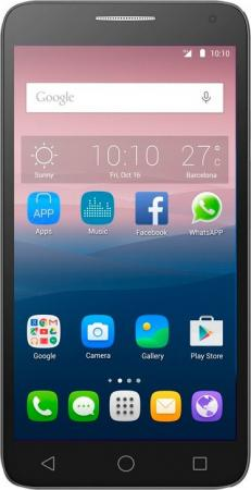 Alcatel OneTouch POP 3 5025D Black Leather