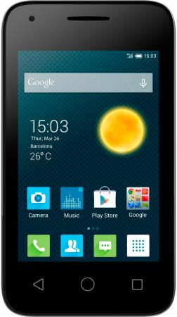 Alcatel OneTouch 4009D Metalic Silver