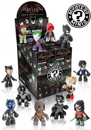 Funko Mystery Mini Blind Box - DC: Batman Arkham Games