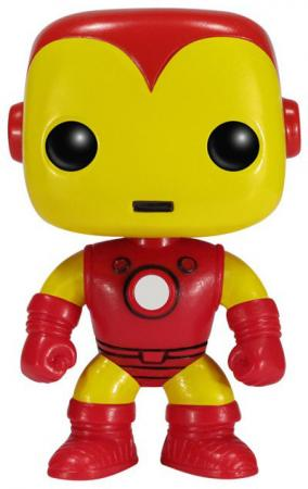 Funko POP! Bobble: Marvel: Classic Iron Man