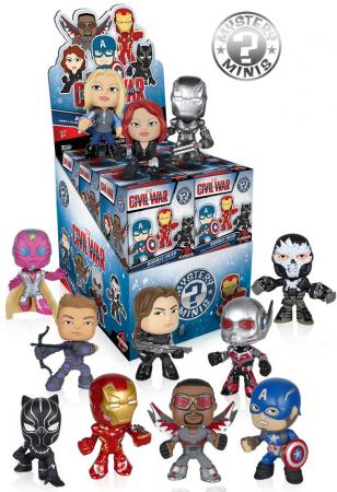 Funko Mystery Mini Blind Box - Marvel: Captain America CW