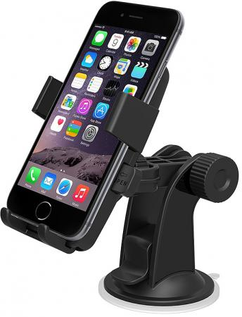 IOTTIE Easy One Touch Universal Car Mount Holder Black (HLCRIO102)