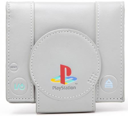 90028161f5e7 Difuzed Playstation - Shaped Playstation Bifold Wallet