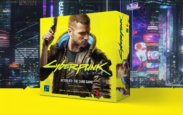 Afterlife: The Card Game: Карточная игра по Cyberpunk 2077