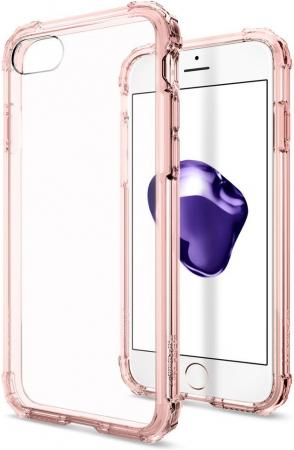 Spigen Case Crystal Shell for iPhone 7, Rose Crystal (SGP-042CS20308)