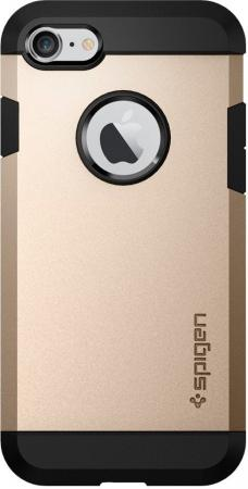 Spigen Case Tough Armor for iPhone 7, Champagne Gold (SGP-042CS20490)