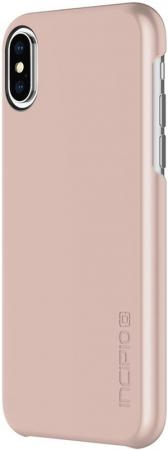 Incipio Feather Princess Peach for iPhone X/XS Iridescent Rose Gold (IPH-1643-RGD)
