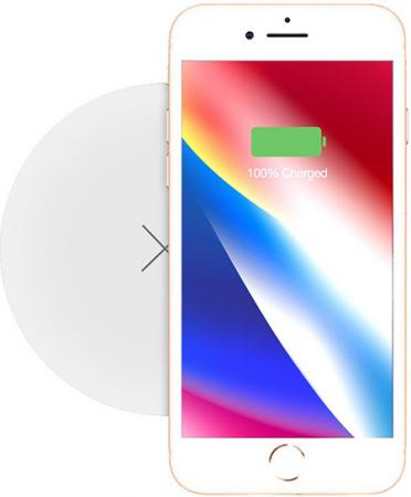 Momax Q.Pad X Ultra Slim Wireless Charger White (UD6W)
