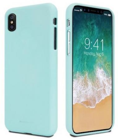 Goospery SF Jelly Case for Galaxy A7 (A750), Mint (8809550411661)