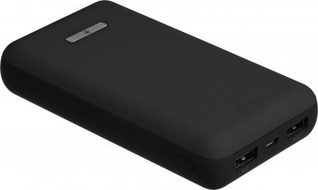 2E Power Bank 20000mAh, Sota Slim Black (2E-PB2006AS-BLACK)
