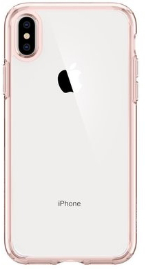 Spigen Case Ultra Hybrid for iPhone XS Max, Rose Crystal (065CS25129)