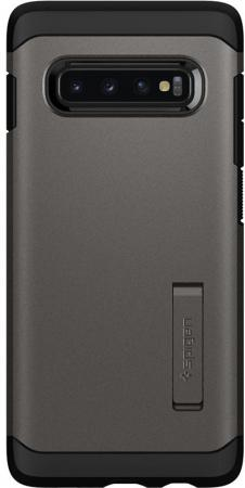 Spigen Case Tough Armor for Galaxy S10 Plus, Gunmetal (606CS25769)
