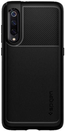 Spigen Case Rugged Armor for Xiaomi Mi 9, Matte Black (S35CS26089)