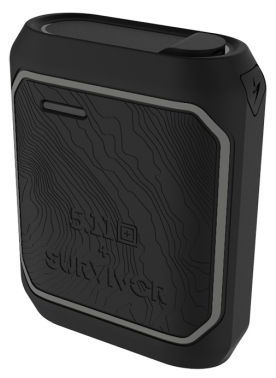 Griffin Survivor Rugged 5.11 Tactical Universal Power Bank 10050mAh, Black (GC43485)