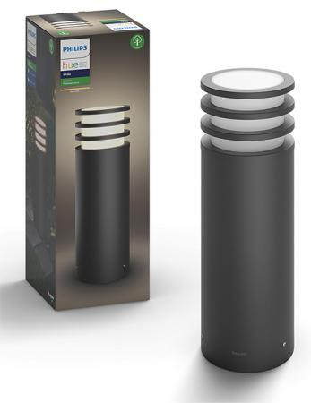 Philips Lucca pedestal 1x9.5W 230V Anthracite (17402/93/P0)