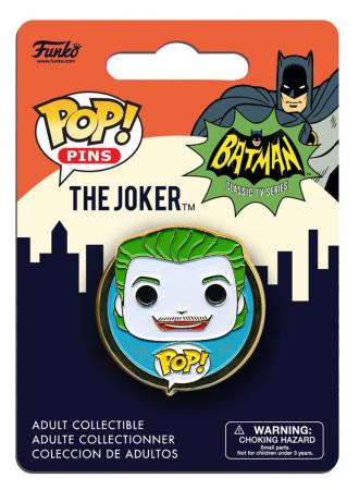 Funko POP! Pins: DC: 1966 Joker