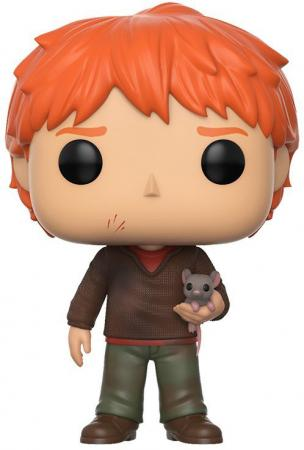 Funko POP! Vinyl: Harry Potter: Ron Weasley with Scabbers