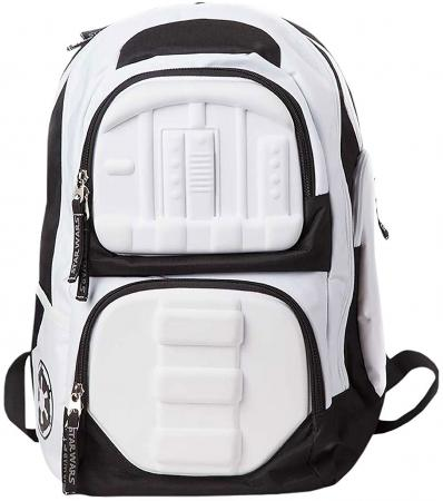 Bioworld Star Wars 3D Molded Stormtrooper Backpack