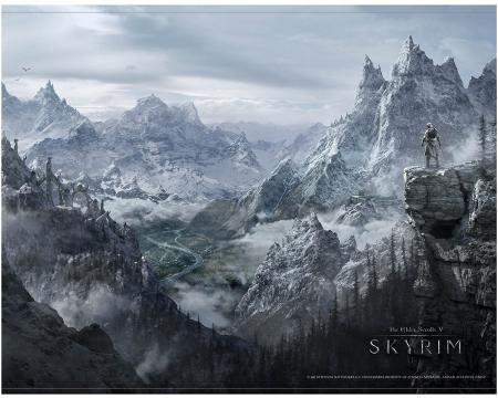 Gaya Skyrim Wallscroll - Valley