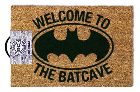 Pyramid Batman Doormat - Welcome to The Batcave