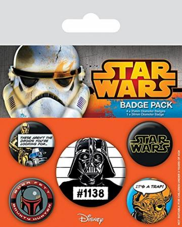 Pyramid Badge Pack: Star Wars - Cult