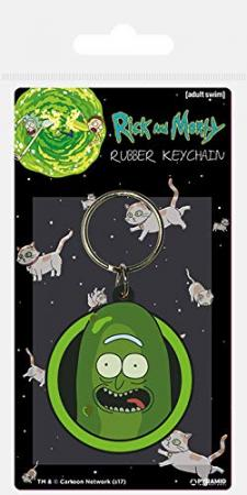 Pyramid Keychain: Rick and Morty - Pickle Rick