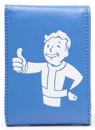 Difuzed Fallout 4 - White Vault Boy Approves On Blue Wallet