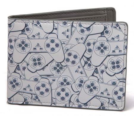 Difuzed PlayStation - Controller Bifold Wallet, All Over Printed