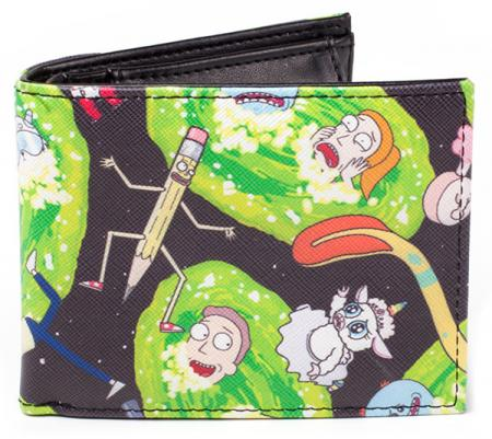 Difuzed Rick and Morty - Characters AOP Bifold Wallet