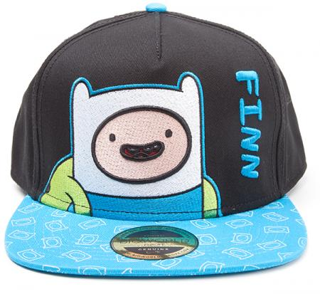 Difuzed Adventure Time - Finn Snapback with Printed Bill
