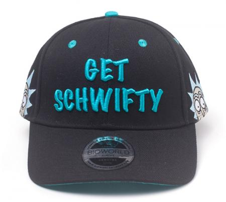 Difuzed Rick and Morty - Get Schwifty Curved Bill Cap