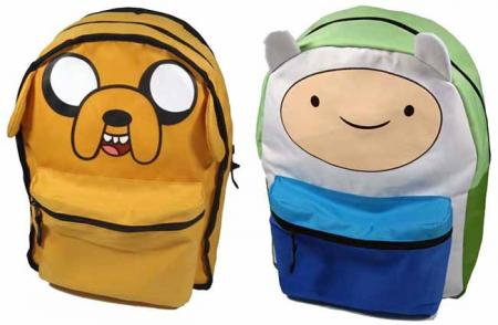 Difuzed Adventure Time - Finn and Jake Reversible Backpack