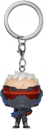 Funko Pocket POP! Keychain: Overwatch - Soldier 76