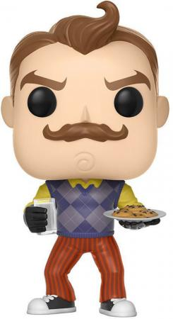 Funko POP! Games: Hello Neighbor - The Neighbor with Milk and Cookies