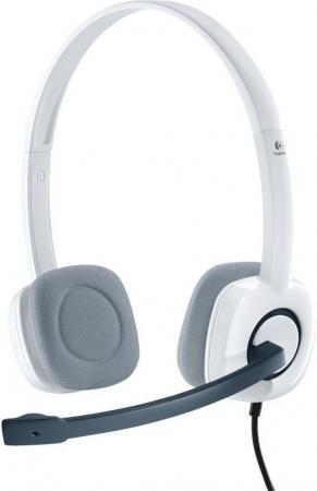Logitech Stereo Headset H150 Cloud White (981-000350)