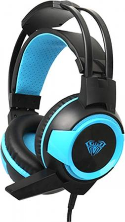 Shax Gaming Headset Black/Blue (6948391232447)