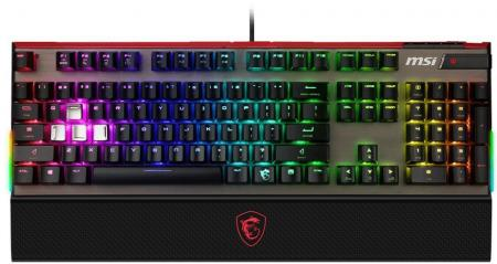 MSI Vigor GK80 RGB Cherry MX Red Black