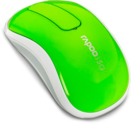 Rapoo Wireless Touch Mouse Green (T120p)