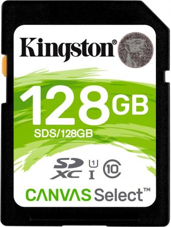 Kingston SDXC 128GB Class 10 UHS-I Canvas Select (SDS/128GB)