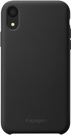 Spigen Case Silicone Fit for iPhone XS Max, Black (065CS25653)
