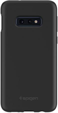 Spigen Case Silicone Fit for Galaxy S10 Е, Black (609CS25854)