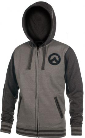 JINX Overwatch Zip Up Hoodie - Founding Member Varsity, M