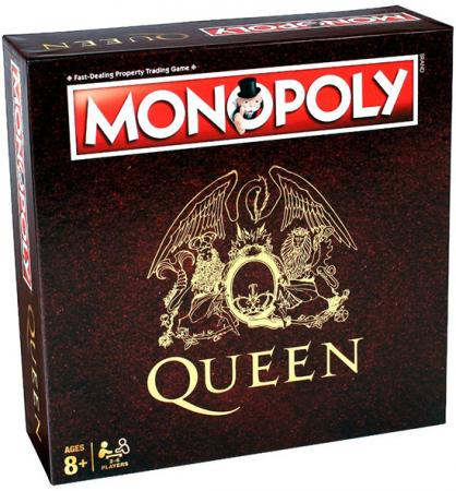 Winning Moves Monopoly - Queen UK (26543)